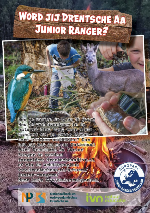 Flyer Junior Rangers