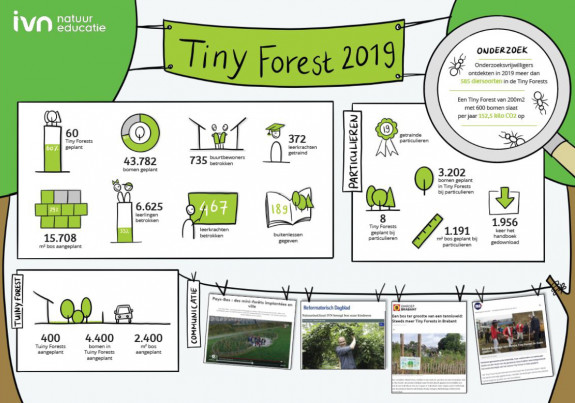 Tiny Forest infographic 2019