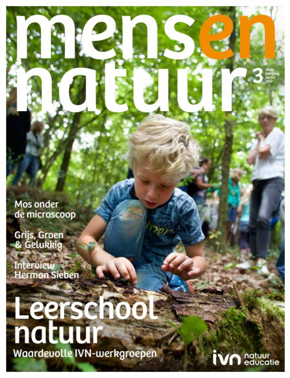 Mens en natuur cover