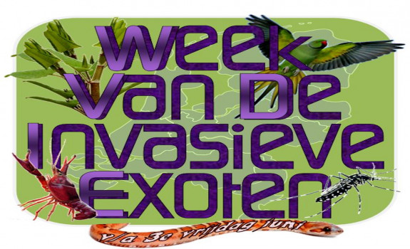 Logo Week van de Invasieve Exoten