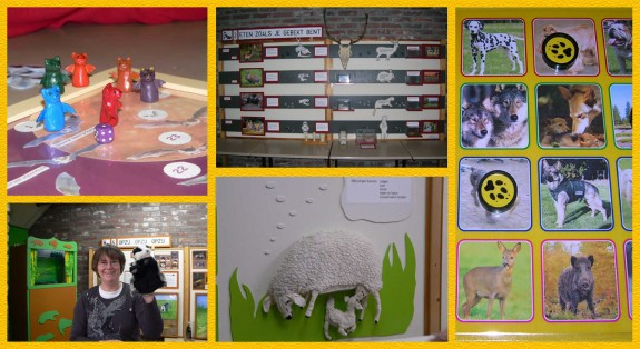collage project Zoogdieren IVN Valkenswaard-Waalre